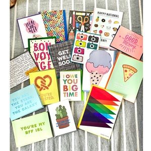 19 Greeting Card Bundle -Happy Mail and Ban.do